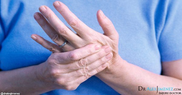 blog picture of woman holding hand in pain