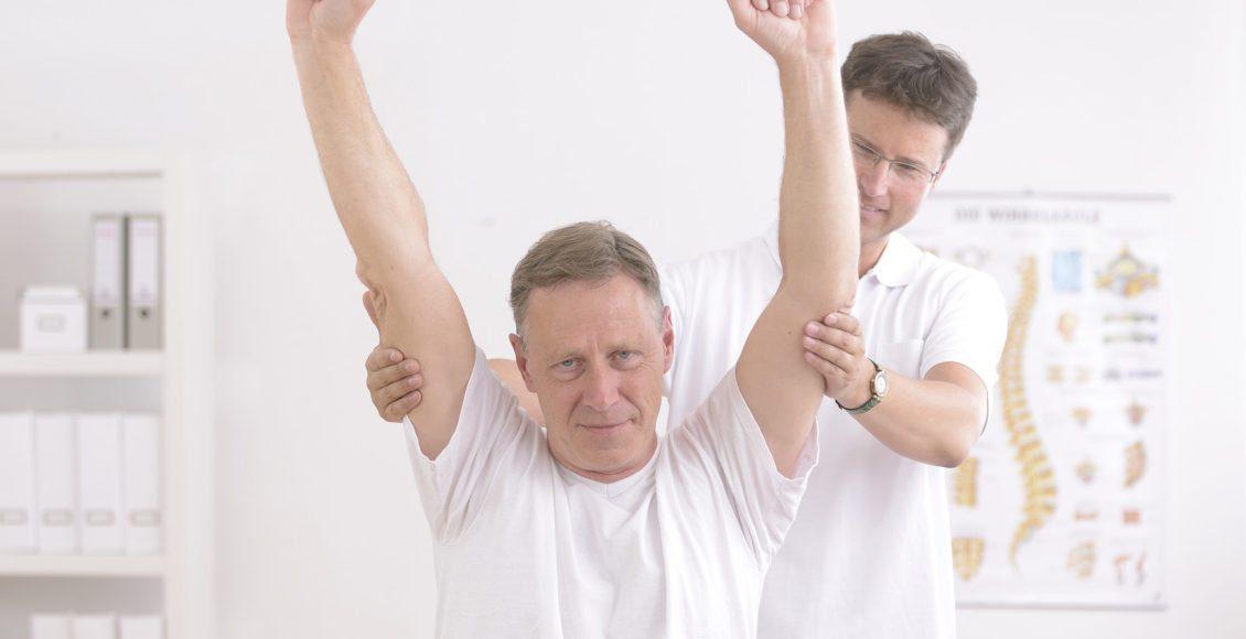 rotatorcuffel paso chiropratico paziente riabilitazione post infortunio