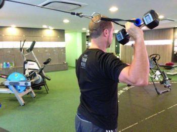 Iso-integration shoulder press