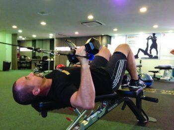 Iso-integration Shoulder Press Start