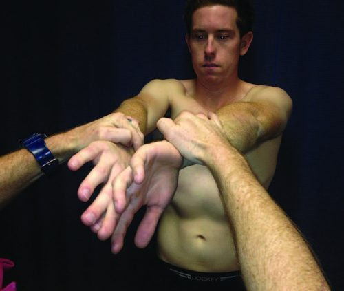 O' Brien's Active Compression Test A - El Paso Chiropractor