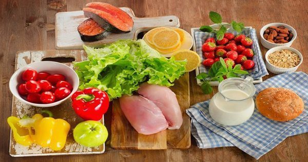 blog picture of healthy foods laid out