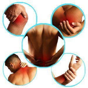 blog picture of various areas of the human body where pain occurs most