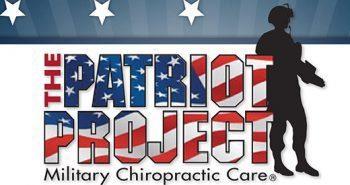 блог-фотография патриотического проекта по хиропрактике для военных ветеранов