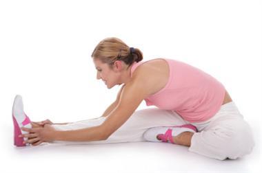 foto di blog di gambe stretching signora