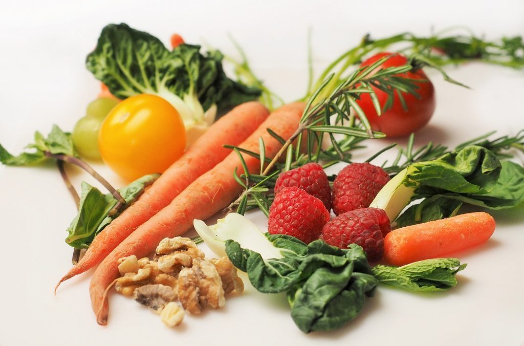 blog picture of various vegetables and fruits