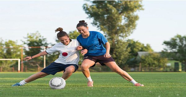 blog picture of ladies playing soccer