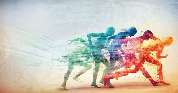 blog picture of multicolor illustration of runners