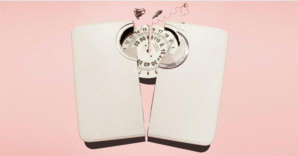 blog de imágenes de escala de peso roto