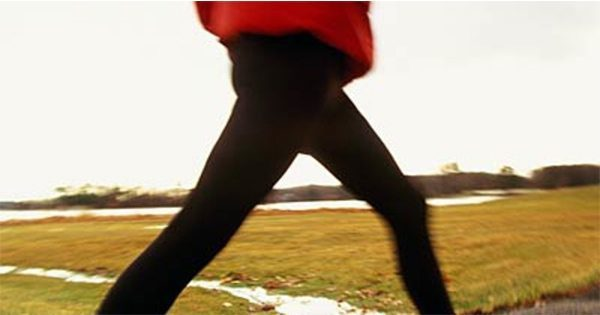 blog picture of woman walking in a field