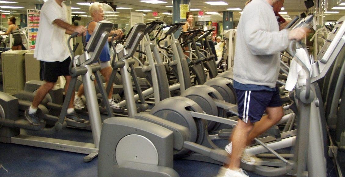 foto di blog di classe fitness
