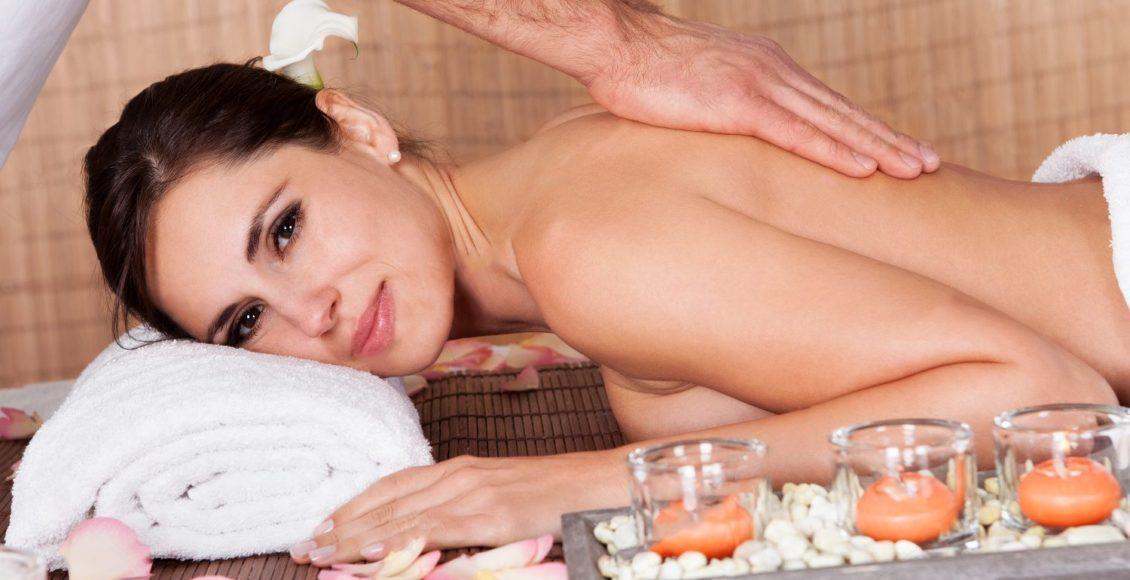 blog billede af dame får massage