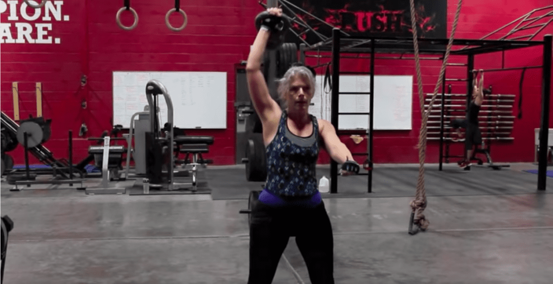 Push as Rx kettlebell training