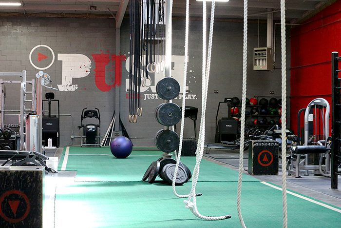 Push as Rx fitness facility