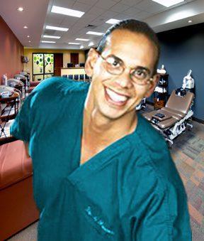 Dr. Jimenez Torso Lean In Clinic Volver