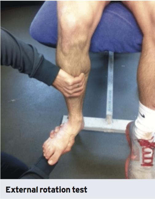 syndesmosis high ankle sprain injuries scientific rehab