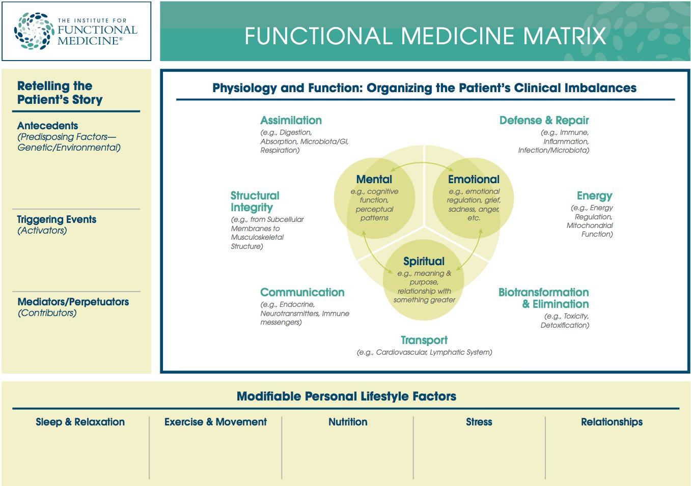 Medicina funcional Matriz de Medicina Funcional