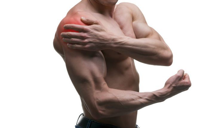Shoulder sprain strain
