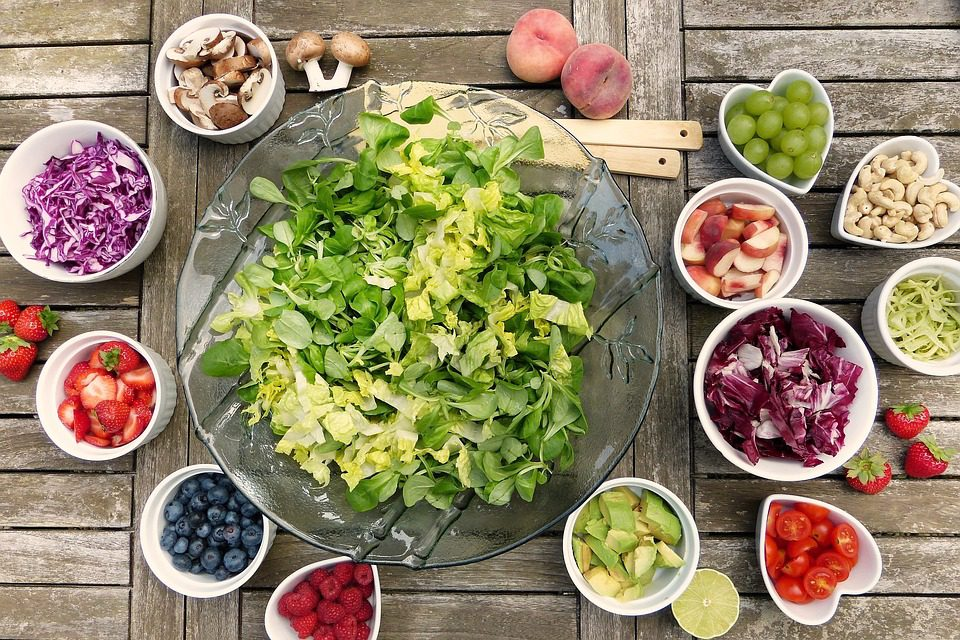 dietary salad unconstructed