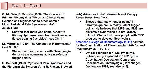 fibromyalgia history