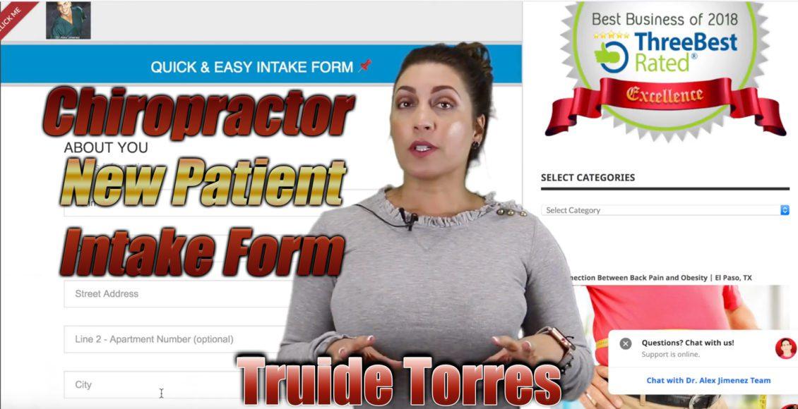 new patient intake form el paso tx.