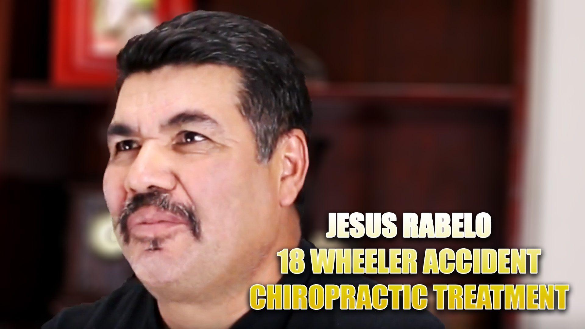 18 wheeler acidente quiropraxia el paso tx.