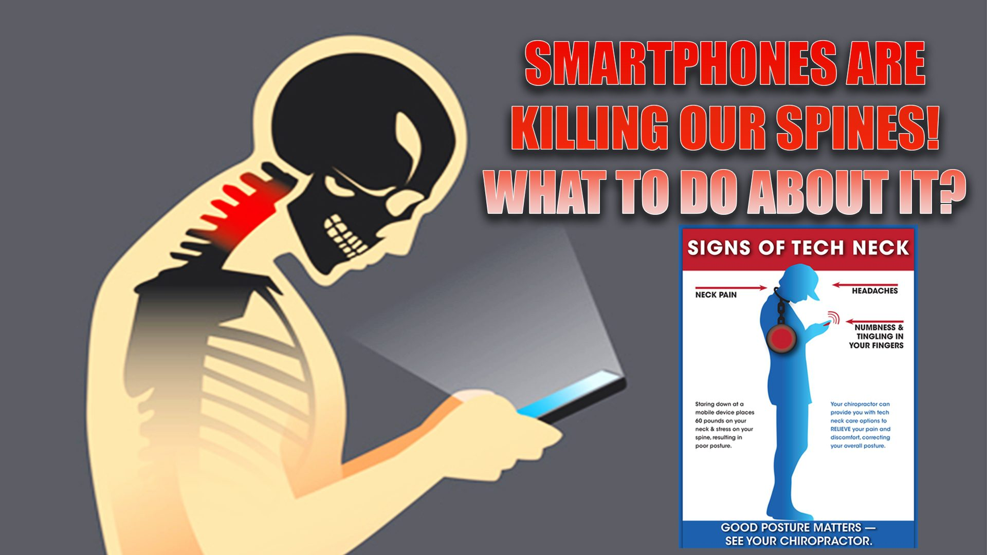 smartphones spine issues chiropractic care el paso, tx.