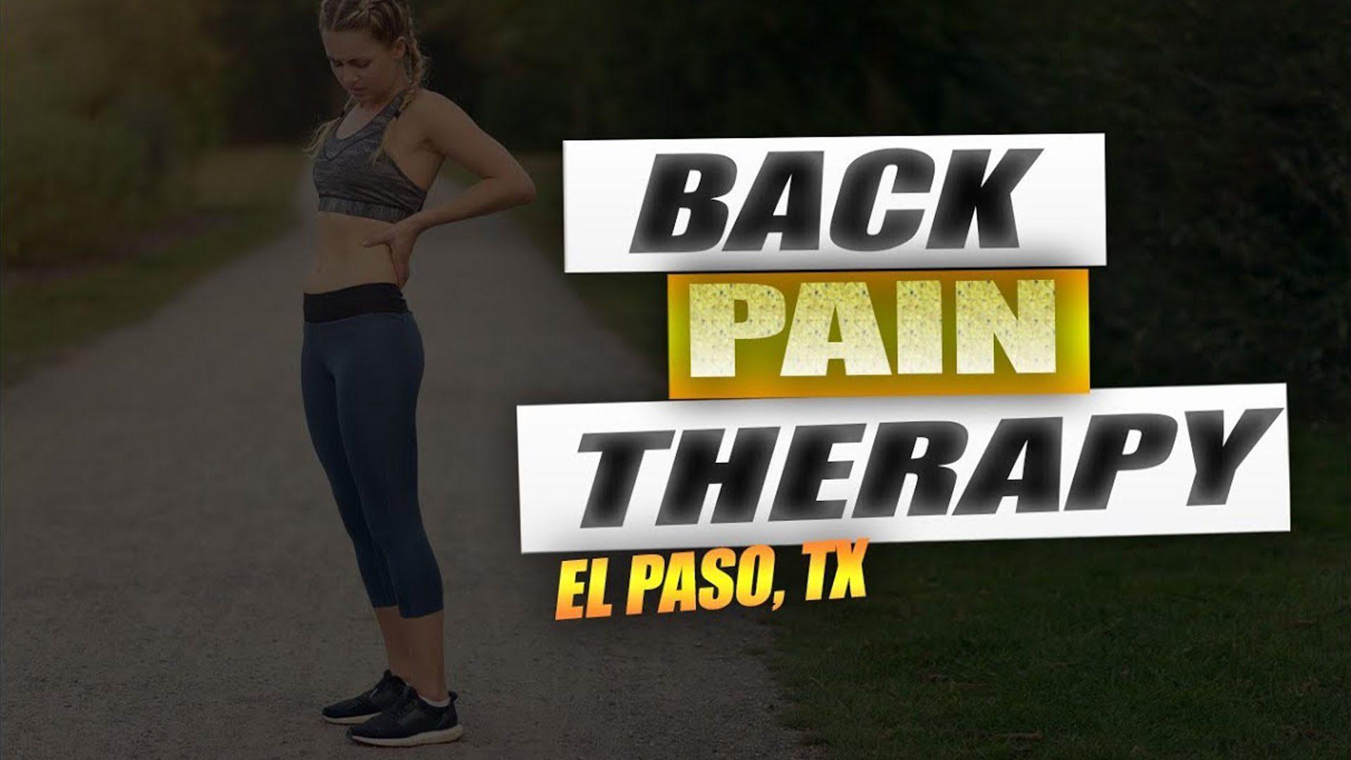 Dolor de espalda atención quiropráctica el paso tx.