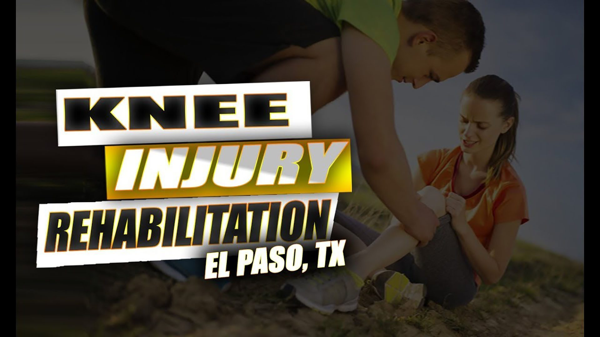 knee injury chiropractic care, el paso tx.