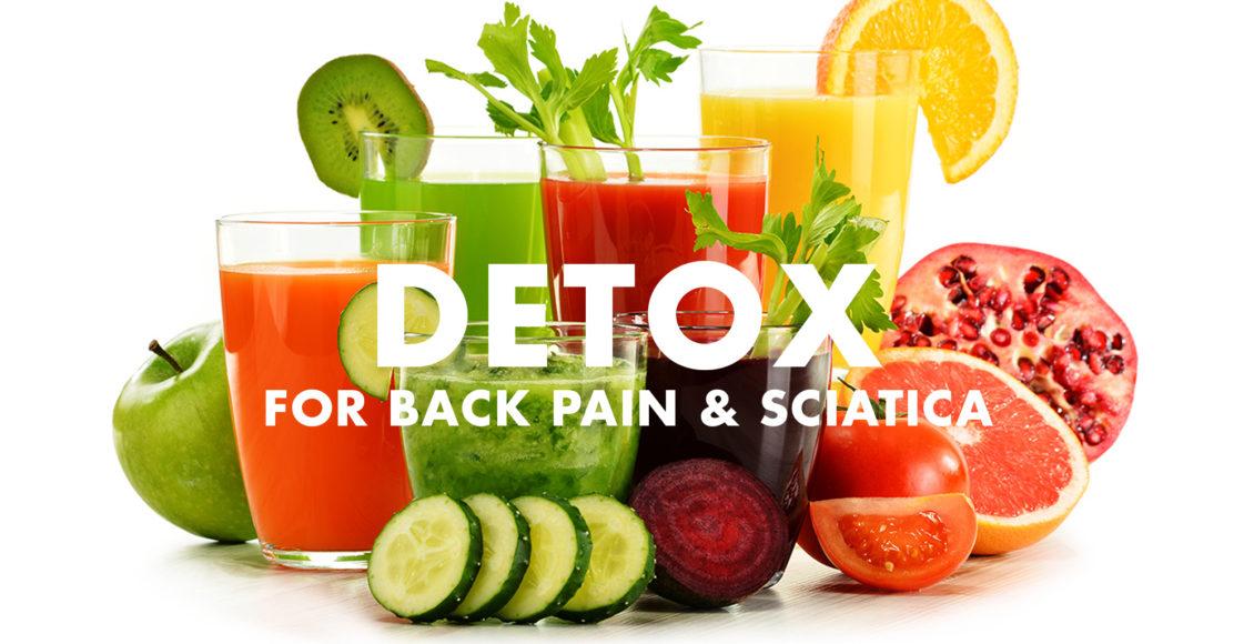 Desintoxicación para el dolor de espalda y la ciática | El Paso, TX Quiropráctico