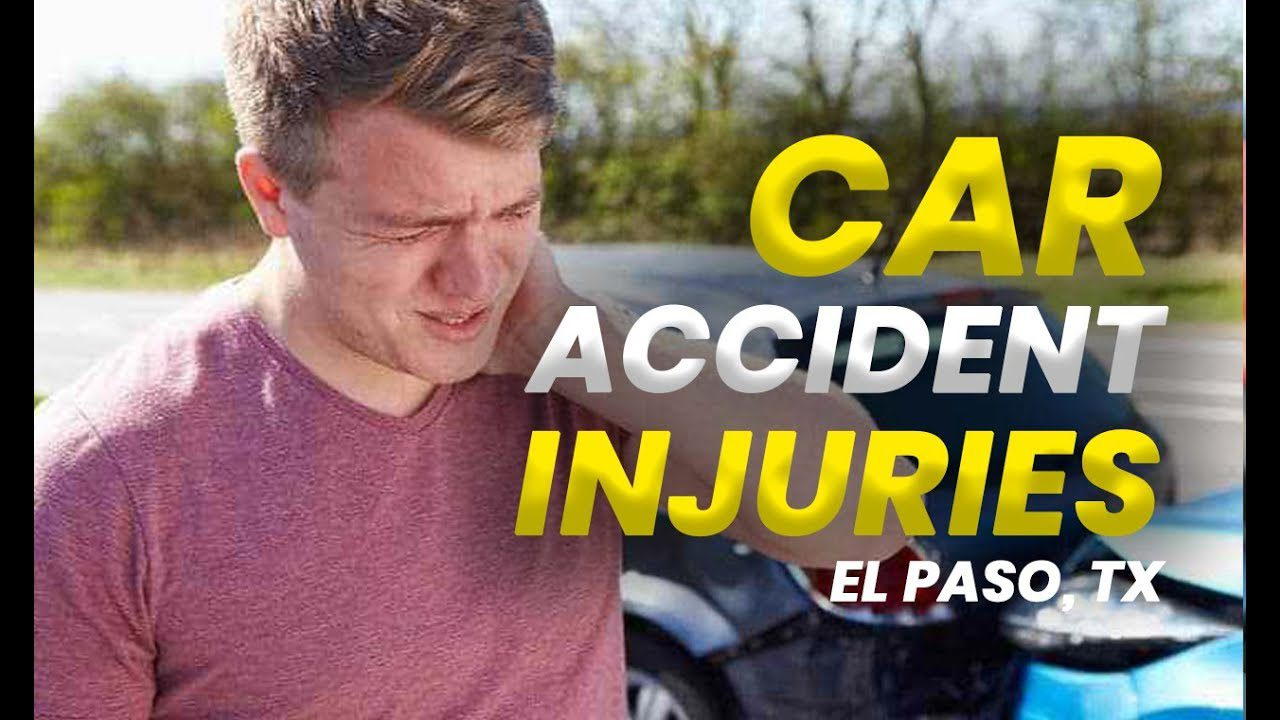 11860 Vista Del Sol Ste. 128 *CHIROPRACTIC CARE* on Car Accident Injuries | El Paso, Tx (2019)