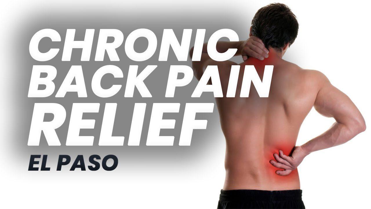 11860 Vista Del Sol Ste. 128 Chronic * BACK PAIN * Terapia | El Paso, Tx (2019)