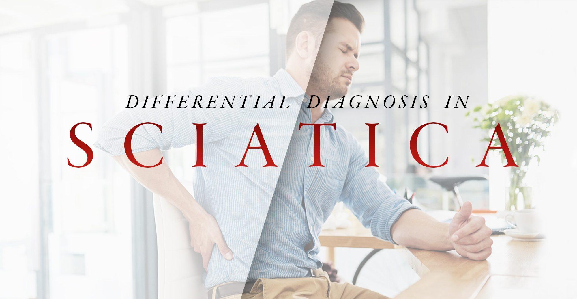 Дифференциальная диагностика при ишиасе Часть 2 | Эль Пасо, Техас Хиропрактик