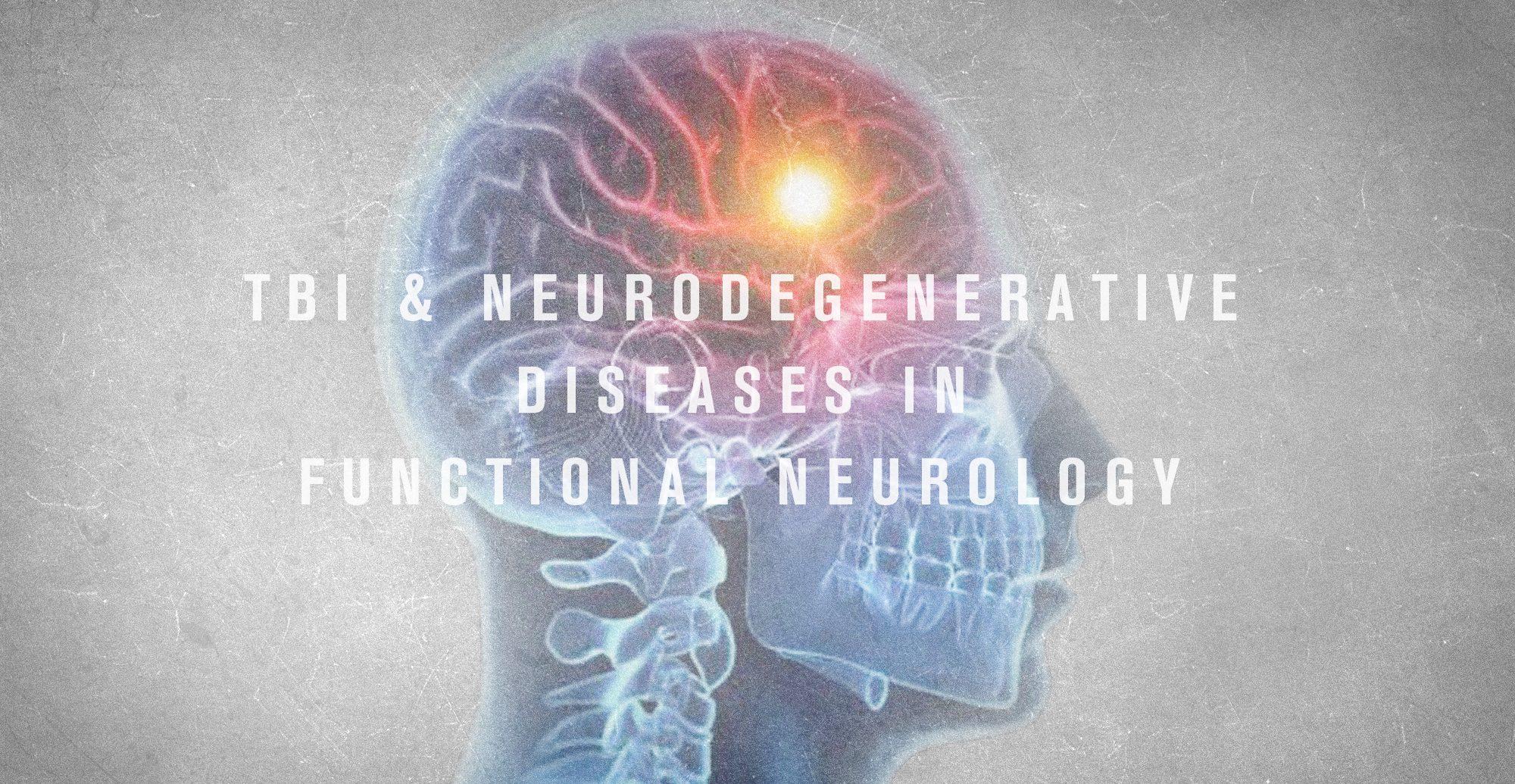 TBI e malattie neurodegenerative in neurologia funzionale | Chiropratico El Paso, TX