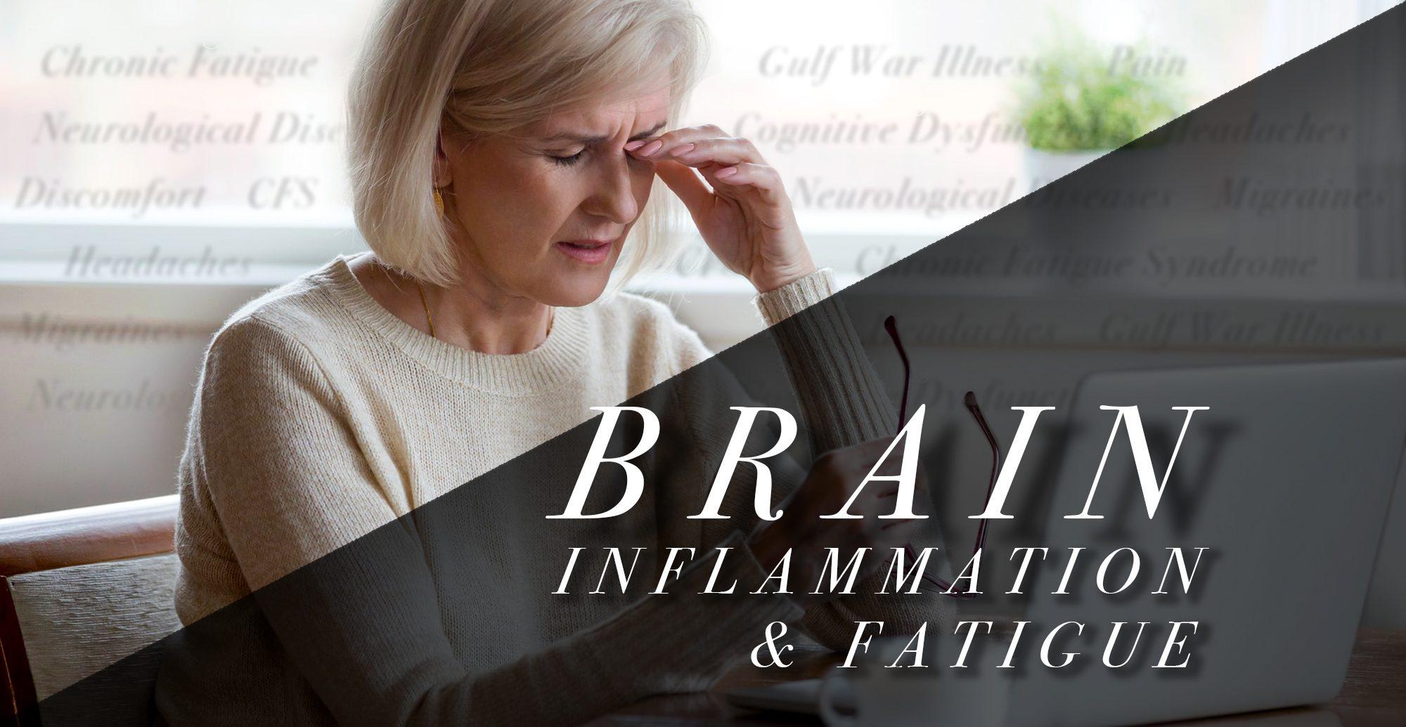 Inflamación cerebral y fatiga